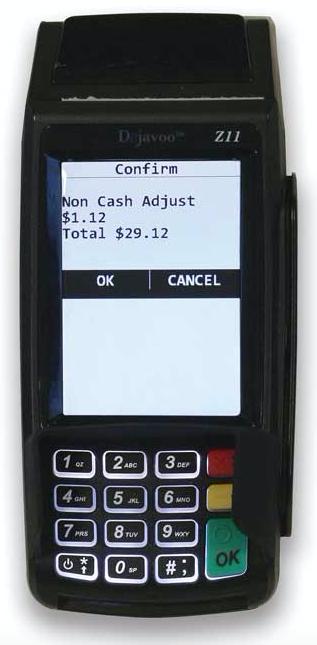 Dejavoo z11 credit card processing terminal